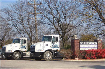 C&K Transport, Expidite, LTL, Warehousing, Midwest, Illinois, Indian, Wisconsin, Chicago